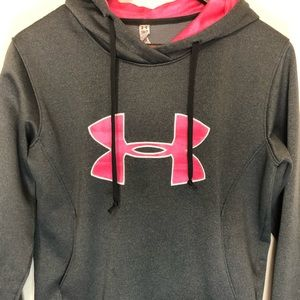 Under Armour Tops - Under Armour women's pullover hoodie Small grey